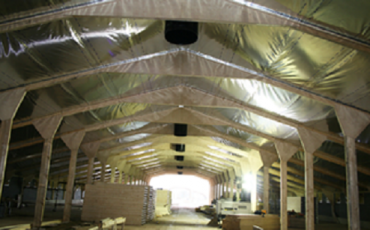Insulation lining moves into new build projects for first time